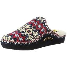 NORDIKAS Classic, Zapatillas de Estar por casa con talón Abierto para Mujer
