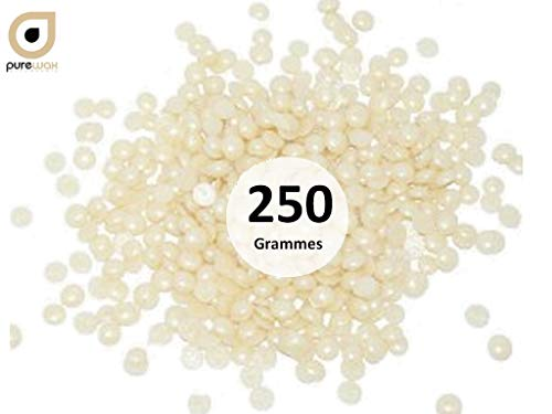 PASTILLES de cire à épiler pelable BLANC NACRE, PUREWAX By Purenail 250 gr, épilation sans bandes TOP PROMO