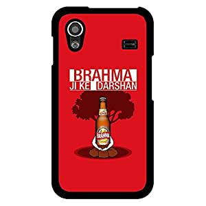 Bhishoom Designer Printed 2D Hard Back Case Cover for Samsung Galaxy ACE 5830 - Premium Quality Ultra Slim & Tough Protective Mobile Phone Case & Cover