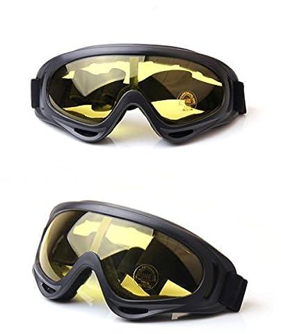 Manfâ Ski Goggles for Kids Men & Women Skate Glasses with 100% UV 400 Protection Wind Resistance Anti-Glare Lenses & Dust-proof Insulationb