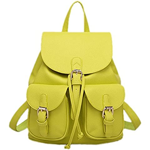 DELEY Donna Moda Multi Tasche Design Tote Borsa A Tracolla Zaino Sacchetto