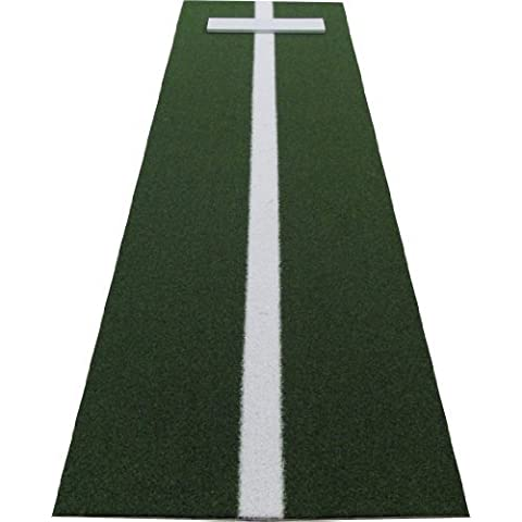 PM3660GREEN 3' x 5' XL Green Nylon Softball Pitchers Pitching Mound With 5mm Foam Power Line by All Turf Mats