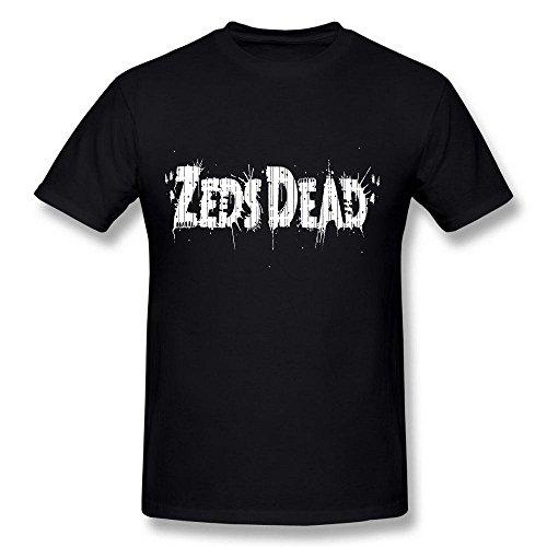 Men's Zeds Dead ZD Logo Black T Shirt XX-Large