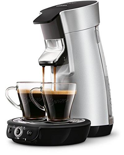 Senseo HD7831/10 Viva Café Kaffeepadmaschine (Kaffee Boost Technologie) silber thumbnail