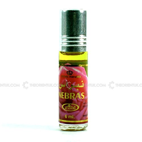 NEBRAS 6ml Best Selling Al Rehab Perfume Oil - Top Quality Fragrance