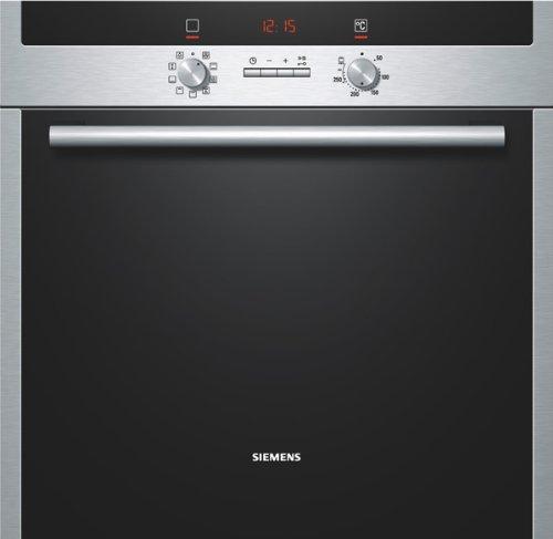 Siemens HB33AU540 - Horno (67L, 3500W, Eléctrico, Integrado, Acero inoxidable, Botones)