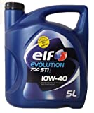 Elf 1951052031 - olio semisinta‰tico evolution® 700 sti 10w40 5l