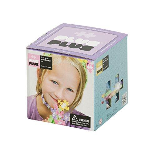 Plus-Plus 52132 - Gioco di Costruzioni Mini Pastel, 600 Pezzi