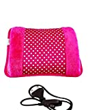 Ivaan Electric Hot Water Bag Heating Gel Pad Fur Velvet with Hand Pocket