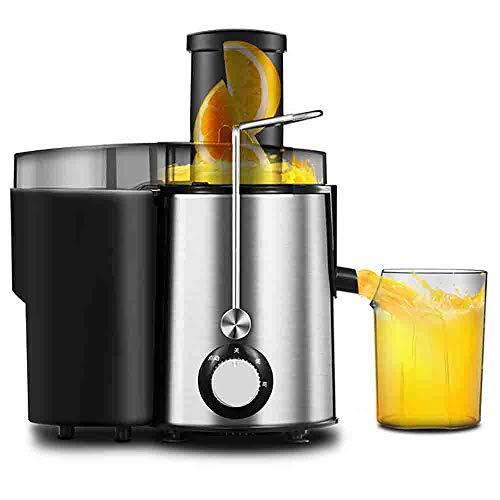 LOVEHOUGE Elektro-Entsafter, Weithals-Entsafter für volles Obst und Gemüse, BPA-freier Lebensmittel-Edelstahl, Dual-Speed-Entsafter-Maschine
