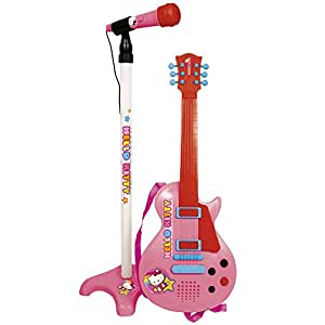 Reig/hellokitty - 1509 - Guitare Avec Micro Sur Pied - Hello Kitty