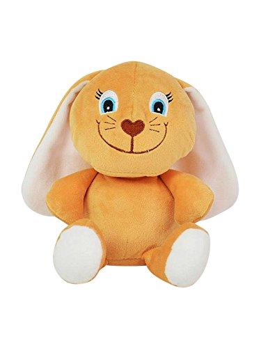 Laber Socke - Conejo para dormir (aprox. 15 x 10 x 17 cm, juguete de aprendizaje con función de grabación y reproducción, se mueve y se mueve con la cabeza, ideal para niños y niñas, como regalo