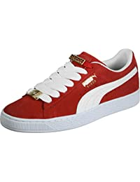 PUMA Suede Classic Badge Iced Fashion Sneaker Vivacious 9.5 M US