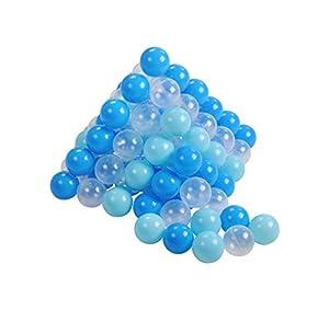 Knorrtoys 56771Pelotas Juego 6cm de diámetro-100Balls/Soft Blue/White Parte Ball