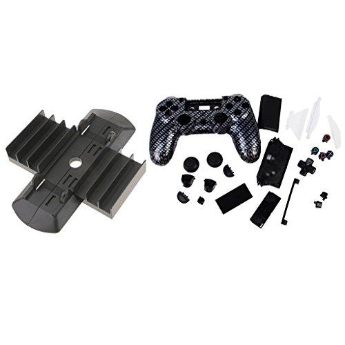 Preisvergleich Produktbild MagiDeal Satz Von PSP4 Zubehör Inkl. Schutz Gehäuse Ersatz Tasten & Vertical Ständer
