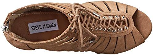 Steve Madden Cyder Dress Sandal Taupe Suede