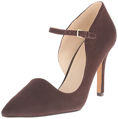 Pompa Nine West Jennelle Dress Suede Dark Brown