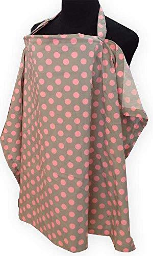 Palm and Pond inch Palm & Pond inch Stilldecke - Grau mit Pinken Punkten - Groß Preemie-shirt