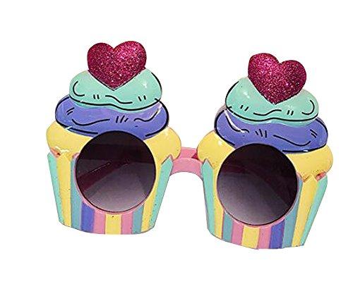 Funny Party Glasses Glaces Glacières Party Supply Multicolore