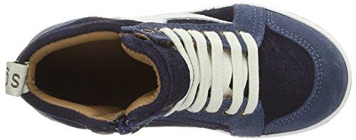 Bisgaard Unisex-Kinder Schnürschuhe High-Top Blau (603-1 Navy)