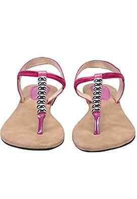 WALK N STYLE Women's Casual footwear(1471_PINK_41)
