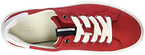 Ecco Ecco Soft 3, Sneakers femme Rot (56545CHILI RED/WHITE)