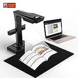 CZUR ET16 Scanner mit Einknopf-Bedienung WLAN Dokumentenscanner für Bücher Dokumente Materialien Bilder (ET16 PLUS)