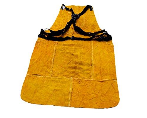 Preisvergleich Produktbild Schweißer Schutzkittel, Schweißer-Schürze aus Echt-Leder