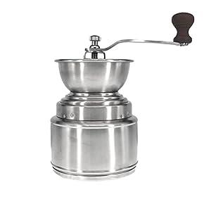 BESTONZON Hand Kaffeebohnen mühle Pfeffermühle Kaffeemühle mit Keramikmahlwerk und Kurbel