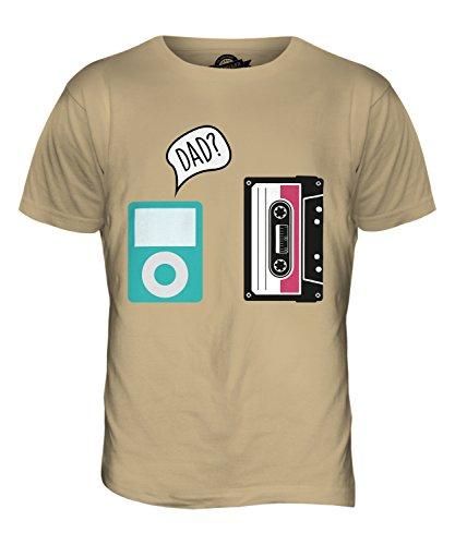 CandyMix Evoluzione Della Tecnologia T-Shirt da Uomo Maglietta Caramello