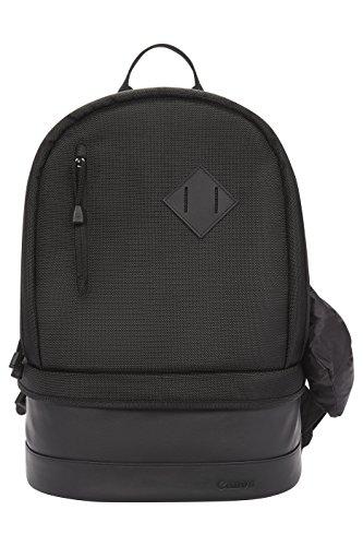 Canon BP100 Rucksack (Zwei Objektive, Ein Stativ und Zubehör, geeignet für eine DSLR-Kamera) schwarz