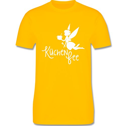 Küche - Küchen Fee - Herren Premium T-Shirt Gelb