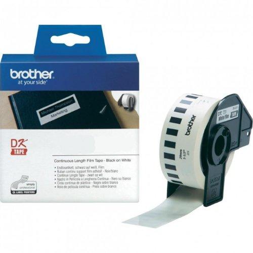 Preisvergleich Produktbild Endlosrolle 29mm P-Touch QL 700 Brother Etiketten 29 mm x 15, 24 meter, Film, 1 Endlosetikett, DK Label für Ptouch QL700, QL-700
