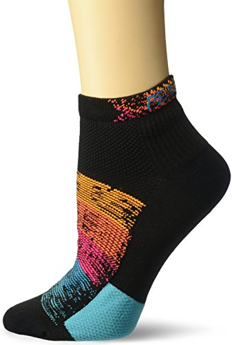 Damen Elite Kompression Socken (PEARL IZUMI Damen Elite Low Socken, Damen, Diffuse Prism)