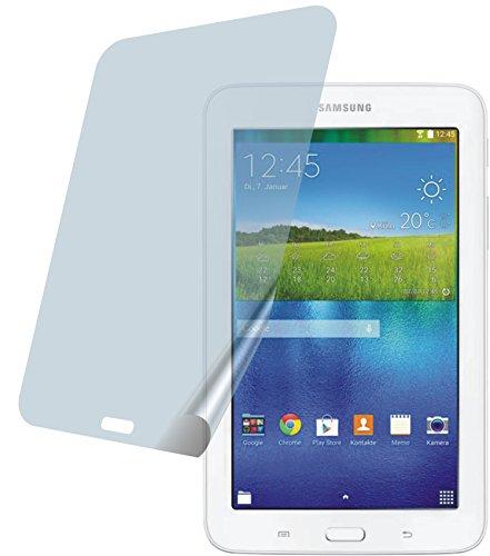 Samsung Galaxy T113N Tab3 7.0 Lite (2 Stück) PREMIUM Displayschutzfolie Bildschirmschutzfolie ANTIREFLEX Schutzhülle Displayschutz Displayfolie Folie