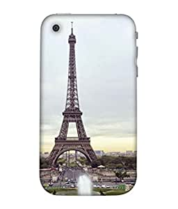 PrintVisa Designer Back Case Cover for Apple iPhone 3GS (Travel Architecture Tourism Europe France City Sky)