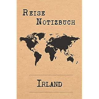 Reise Notizbuch Irland: 6x9 Reise Journal I Tagebuch mit Checklisten zum Ausfüllen I Perfektes Geschenk für den Trip nach Irland für jeden Reisenden
