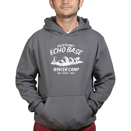 Hoth Planet Echo Base Camp Episode VII Kapuzenpullover