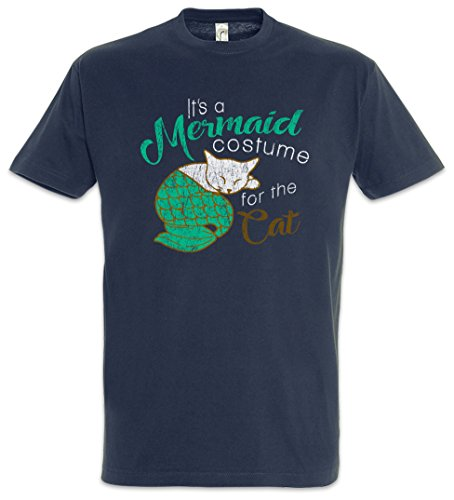 -Shirt Größen S – 5XL (Moderne Familie Katze Kostüm)