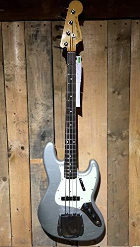 Fender Custom Shop 64 Jazz Bass Inca Silver Journeyman Relic