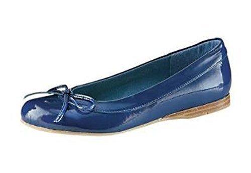 Dalla sua forma di Ballerina, in smalto, colore: blu Blu (blu)