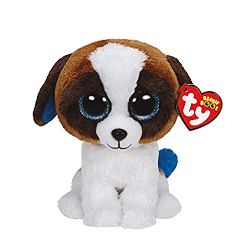Ty Girls and Womens Beanie Boos Small Duke The Dog Soft Toy