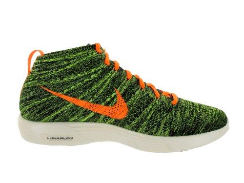 Lunar Flyknit chukka Chaussures de formation sportive black, ttl orange-sq-prcht-gld