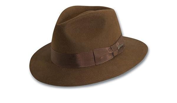 ac94ee1b9c3 Dorfman Pacific Indiana Jones Men s Wool Felt Fedora