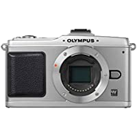 Olympus PEN E-P2 Systemkamera (12,3 Megapixel, 7,6 cm Display, Bildstabilisator) Gehäuse silber