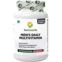 NutrineLife Multivitamin Supplement with Phyto Men Blend, 90 Tablets