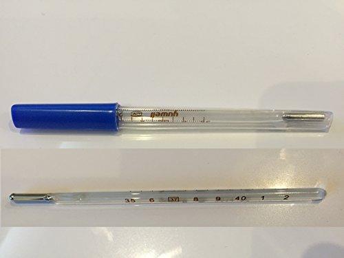 Termometro Hg in vetro clinico prismatico pediatrico e adulti introvabile raro per febbre