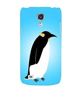 PrintVisa Flat Penguin Icon 3D Hard Polycarbonate Designer Back Case Cover for Samsung Galaxy S4 mini I9195I :: Samsung I9190 Galaxy S4 mini :: Samsung I9190 Galaxy S IV mini :: Samsung I9190 Galaxy S4 mini Duos :: Samsung Galaxy S4 mini plus