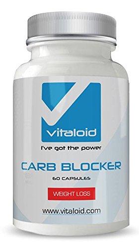 Carb Blocker - Bloqueador de Grasas y Carbohidratos - Vitamina C, judía blanca, guaraná, picolinato de cromo
