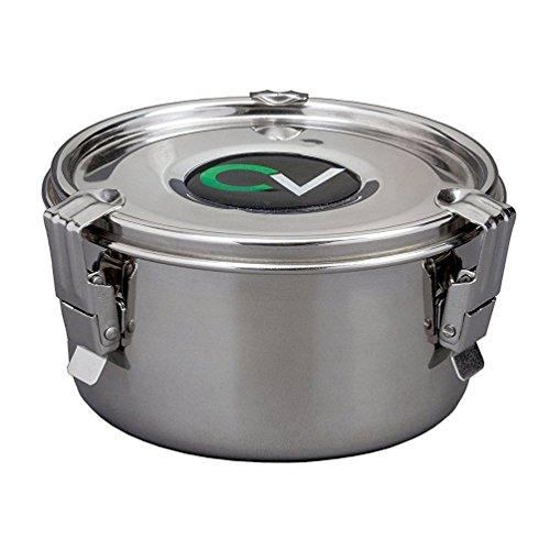CVault Umidità Curing contenitore di immagazzinaggio Large argento